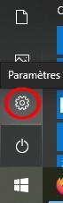 afficher les paramètres windows